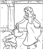 coloriage blanche-neige 003