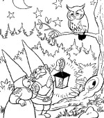 coloriage david le gnome 019