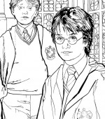 coloriage harry-poter 010