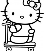coloriage hello kitty 015