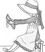 coloriage holly hobbie 2 002