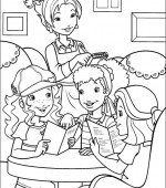 coloriage holly hobbie 003