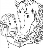 coloriage holly hobbie 006