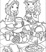 coloriage holly hobbie 012