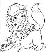 coloriage holly hobbie 013