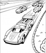 coloriage hot wheels 001
