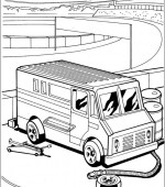 coloriage hot wheels 004