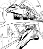 coloriage hot wheels 006