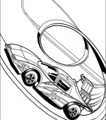coloriage hot wheels 010