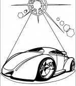 coloriage hot wheels 014