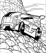 coloriage hot wheels 015