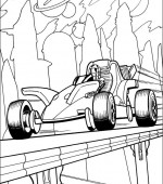 coloriage hot wheels 020