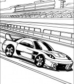 coloriage hot wheels 024