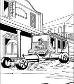 coloriage hot wheels 026