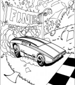 coloriage hot wheels 027