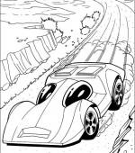 coloriage hot wheels 029