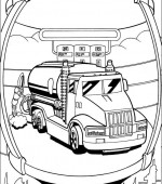 coloriage hot wheels 031