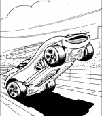 coloriage hot wheels 033