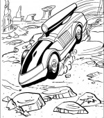 coloriage hot wheels 036