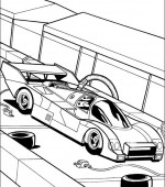coloriage hot wheels 037