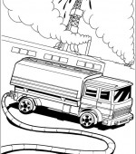 coloriage hot wheels 039
