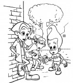 coloriage jimmy-neutron 014