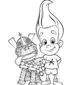 coloriage jimmy-neutron 015