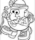 coloriage mr potato head 006