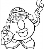 coloriage mr potato head 008