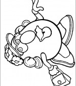 coloriage mr potato head 009