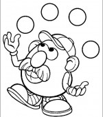 coloriage mr potato head 012