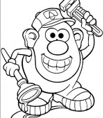 coloriage mr potato head 018