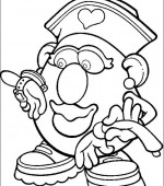 coloriage mr potato head 020