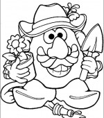 coloriage mr potato head 023