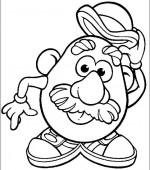 coloriage mr potato head 024