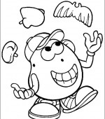 coloriage mr potato head 025