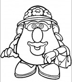 coloriage mr potato head 027
