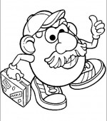 coloriage mr potato head 030