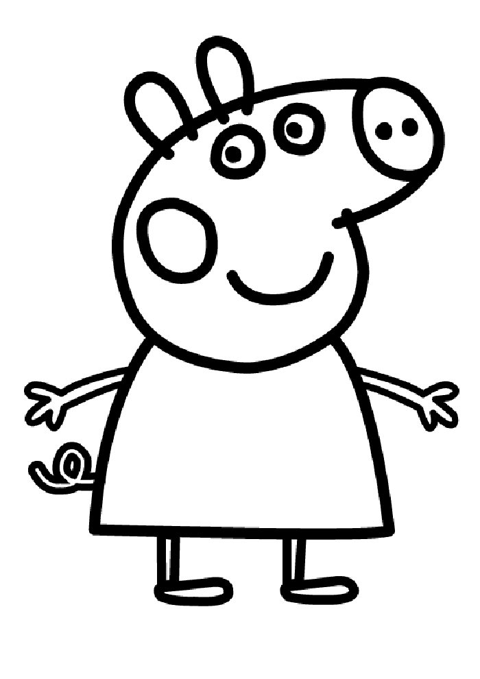 Index Of Coloriages Heros Tv Peppa Pig