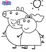 coloriage peppa-pig 003