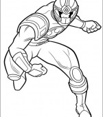 coloriage power ranger 012