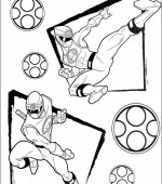 coloriage power ranger 020