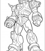 coloriage power ranger 022