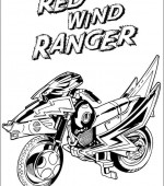 coloriage power ranger 025