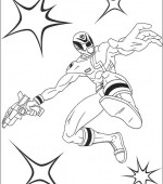 coloriage power ranger 026