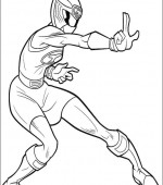 coloriage power ranger 052