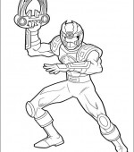 coloriage power ranger 054