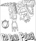 coloriage power ranger 055