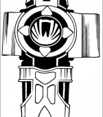 coloriage power ranger 059