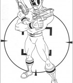 coloriage power ranger 063